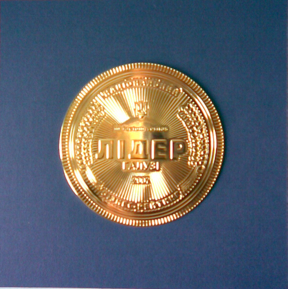 Медаль 1 Бизнес рейтинга